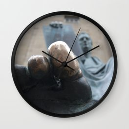 Lucky Philosopher's Foot Wall Clock