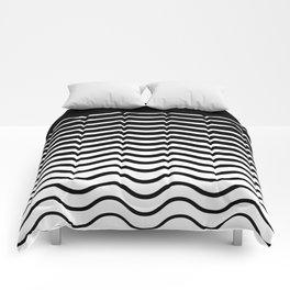 Black Wave Comforters