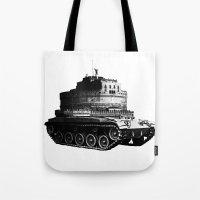 kafka Tote Bags featuring Kafka Tank by paragraph