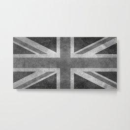 England Union Jack flag scale 1:2 Metal Print