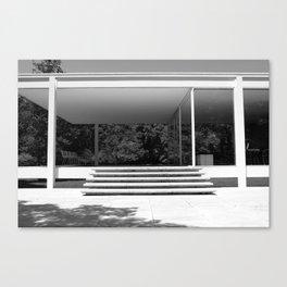 farnsworth house Canvas Print