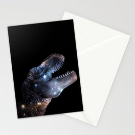 Dinosaurs...in Space Stationery Cards
