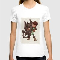 hiccup T-shirts featuring Hiccup & Toothless - Childhood  by David Tako