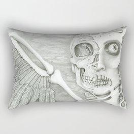 surreal fallen angel Rectangular Pillow