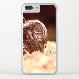Heart to be strong Clear iPhone Case