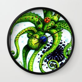 Infinity Octopus Wall Clock