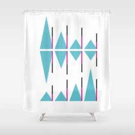Infographic Selection #2 Shower Curtain