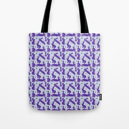 Bunny love - Purple Carrot edition Tote Bag