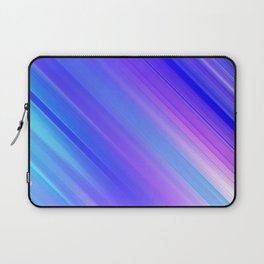 Abstract watercolor colorful lines painting Laptop Sleeve