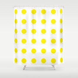 Canary Yellow Shower Curtain