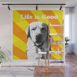 Sunny pup Wall Mural