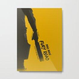 Mad Max: Fury Road v1 Metal Print