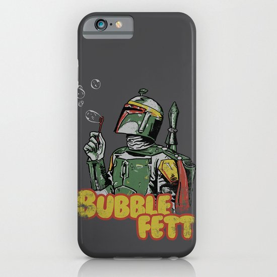 Bubble Fett iPhone & iPod Case