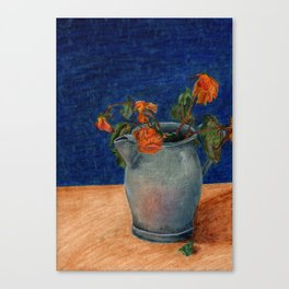 Wilting Memories  Canvas Print