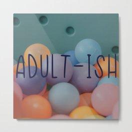 Adult-ish balls Metal Print
