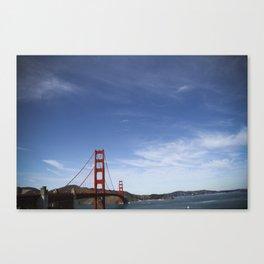 California (landscape) Canvas Print