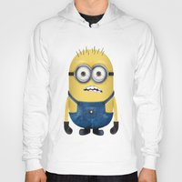 minion Hoodies featuring Minion  by Lyre Aloise
