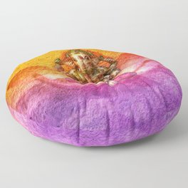 Ganesha Floor Pillow