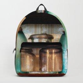 Canning jars in Spindletop-Gladys Backpack