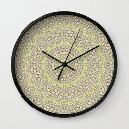mandala, kaleidoscope, ornament, ethnic ornament, elegant, round ornament, tribal, folklore, circle, Wall Clock