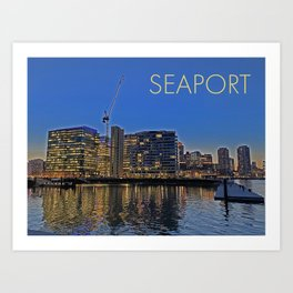 Seaport Series 1 Art Print