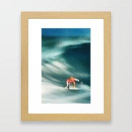 Satellite Surf Framed Art Print