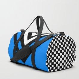 TCR- sports -blue Duffle Bag
