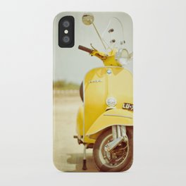 Mod Style in Yellow iPhone Case