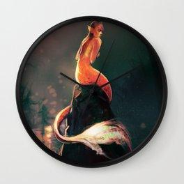Mermaid I Wall Clock