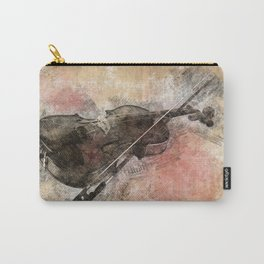 Sounds of music. Violin. Carry-All Pouch