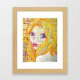 Pop Kiss Framed Art Print