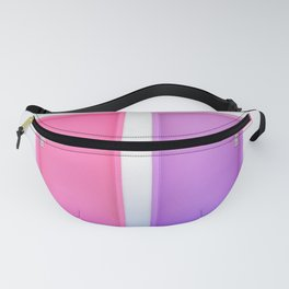 Pink and Purple Doors Fanny Pack