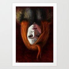 I Am The Night (Wir Sind Die Nacht) Art Print