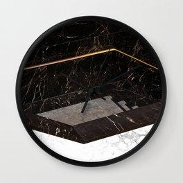 Marble Paradox Wall Clock