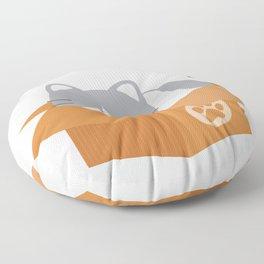 If It Fits, I Sits! Floor Pillow