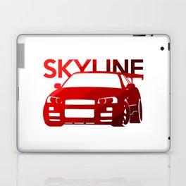 Nissan Skyline GT-R  - classic red - Laptop & iPad Skin