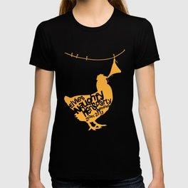 little naughty hen T-shirt