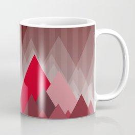 Triangular Mountain Range Coffee Mug
