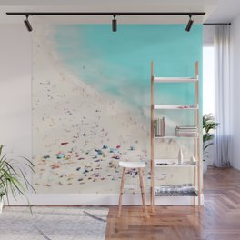 beach love III square Wall Mural