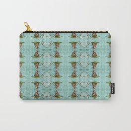 Upside Down Butterfly Carry-All Pouch