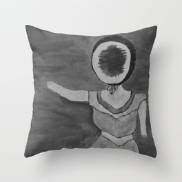 NMH In The Aero Plane Over The Sea Throw Pillow