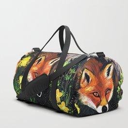 Fox In Nature Duffle Bag
