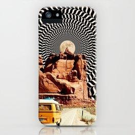 Illusionary Road Trip iPhone Case