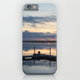 Fishing Refection iPhone Case