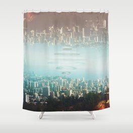 Intervention 28 Shower Curtain