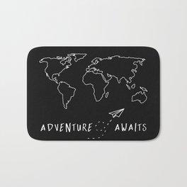Adventure Map Bath Mat