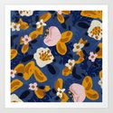 Bouncy Florals No. 2 by brooklynseibold