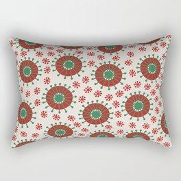 Carousel Christmas Rectangular Pillow
