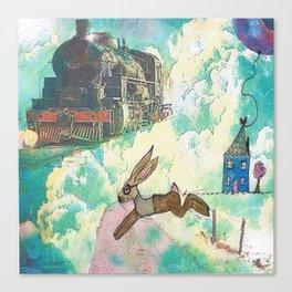 Run BERTIE Canvas Print