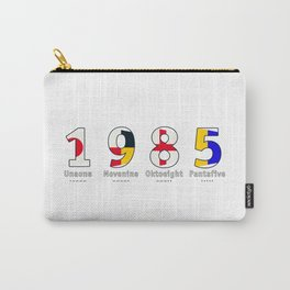 1985 - NAVY - My Year of Birth Carry-All Pouch